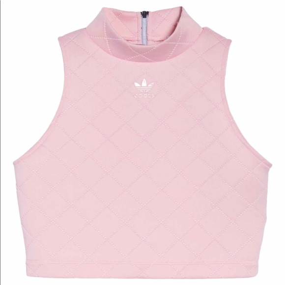1fa3e67a4 Adidas Originals NMD diamond quilted Pink Tank Top